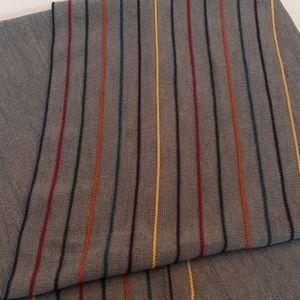 Paul Smith wool scarf Italy rainbow color